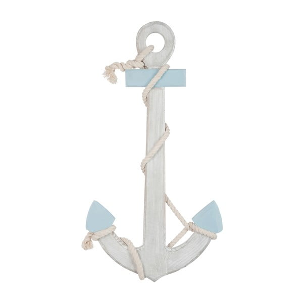 Dekorace Anchor Blue, 70x37x5 cm