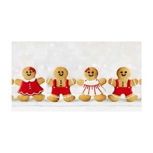 Kuchyňský běhoun Crido Consulting Happy Gingerbreads, délka 100 cm