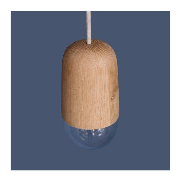 Závěsné svítidlo v přírodním dřevěném odstínu HARTÔ Luce