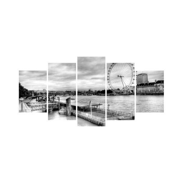 Vícedílný obraz Black&White no. 89, 100x50 cm