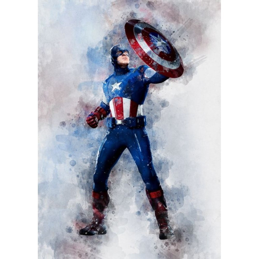 Plakát Blue-Shaker Marvel 21, 30 x 40 cm