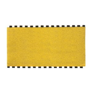 Tapperello Zinc Yellow, koberec 120x65 cm