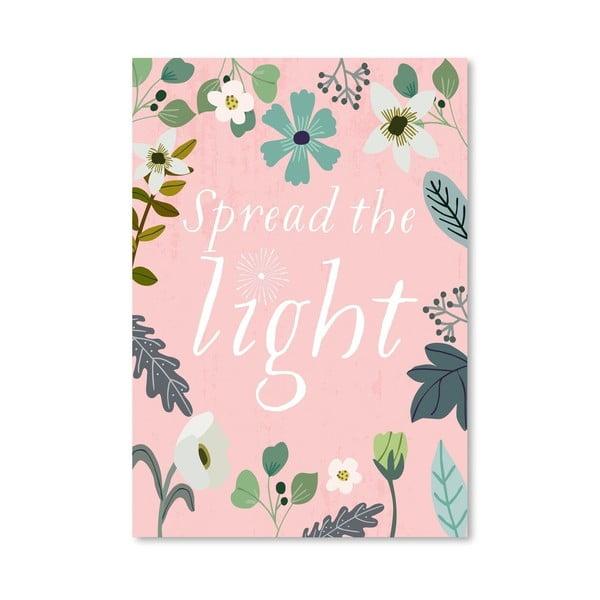 Plakát od Mia Charro - Spread The Light