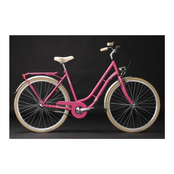 """Kolo City Bike Casino Pink 28"""", výška rámu 54 cm, 3 převody"""