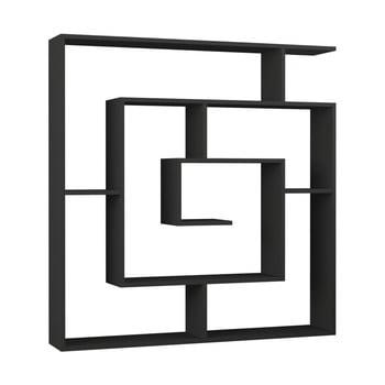 Bibliotecă Maze Anthracite, gri antracit