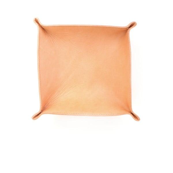 Přírodní kožený košík Casa Di Bassi