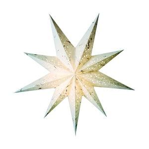 Dekorativní hvězda Baby Spumante White, 45 cm