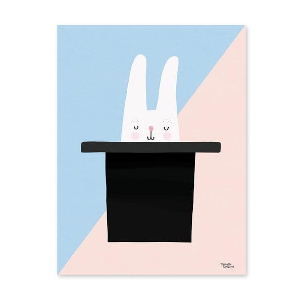 Plakát Michelle Carlslund Bunny Hat Trick, 30x40cm