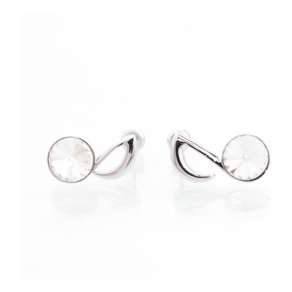 Moselle fülbevaló Swarovski Elements kristályokkal - Laura Bruni