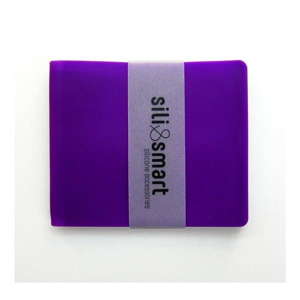 Pár peněženek pro zamilované páry, fialová Lady a fialový Guy