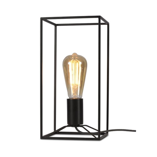 Černá stolní lampa Citylights Antwerp, výška30cm
