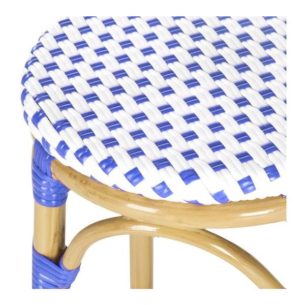 Barová židle Kiara Blue/White