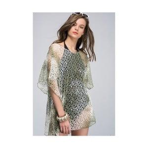 Zelená dámská tunika z čisté bavlny NW Evangelina