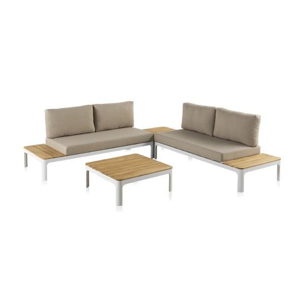 Set mobilier de grădină cu masă Geese Valentina