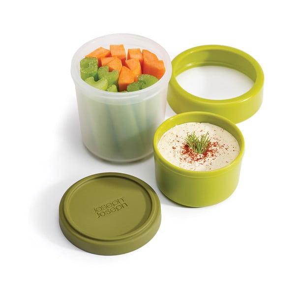 GoEat zöld ételtartó doboz - Joseph Joseph