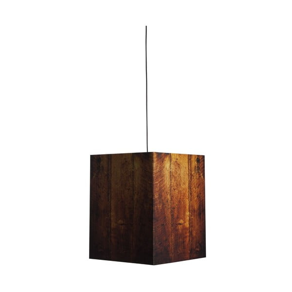 Lampa Heavy Light Warm Wood