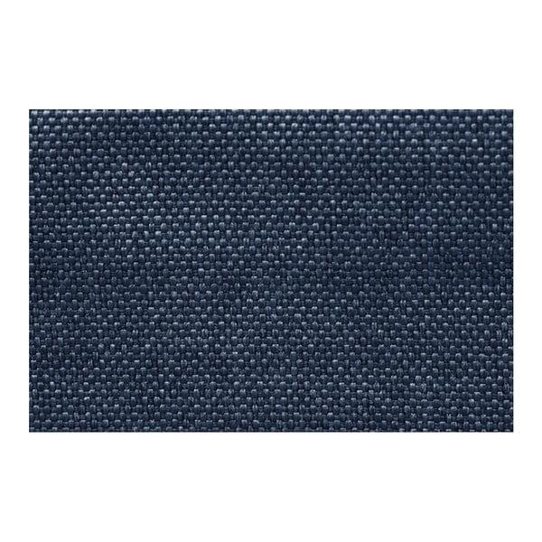 Modrá rohová rozkládací pohovka s úložným prostorem INTERIEUR DE FAMILLE PARIS Perle, levý roh