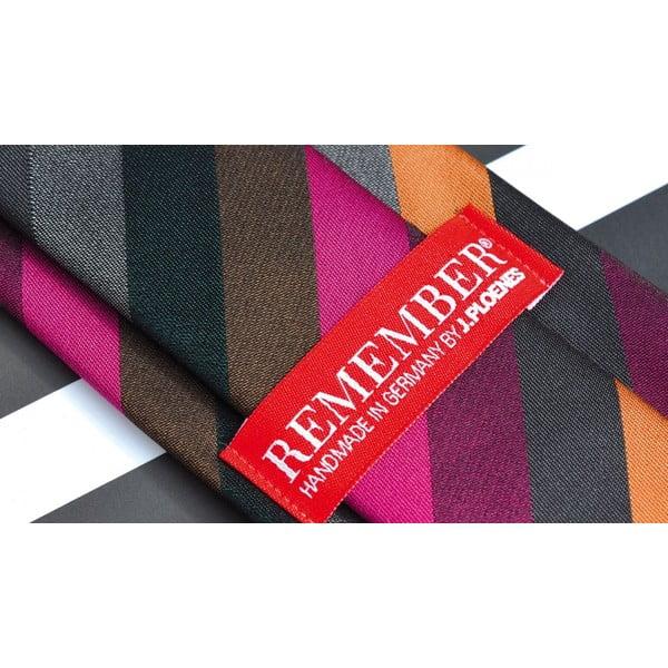 Hedvábná kravata Stipes Grey