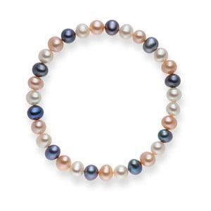 Perlový náramek Cecile Lilac