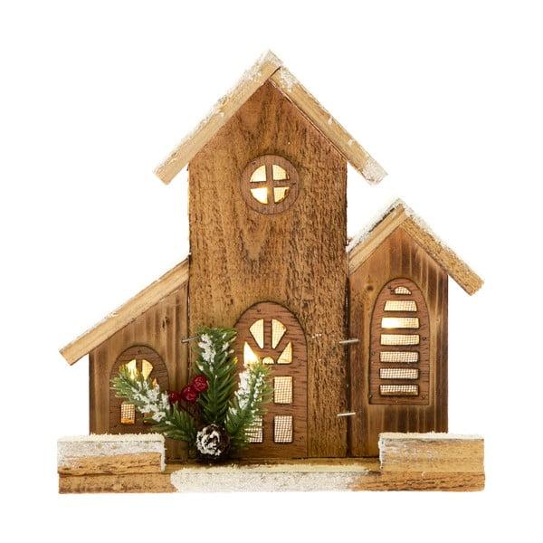 Mały domek dekoracyjny ze światłem Dakls