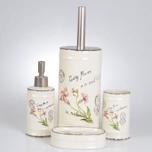 Sada 4ks koupelnových doplňků Vintage Spring