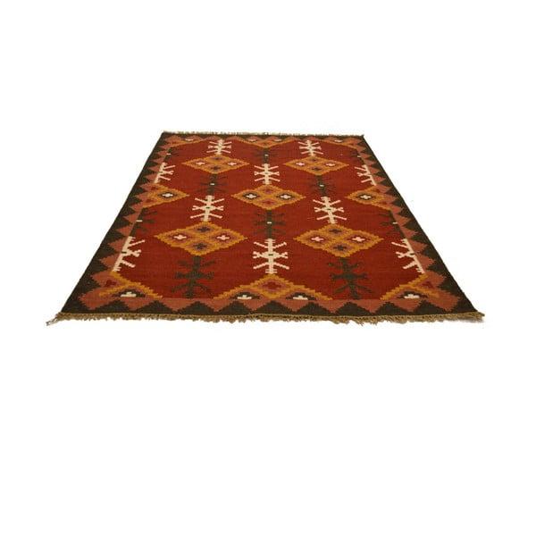 Ručně tkaný koberec Ethnic Orange, 120x180 cm