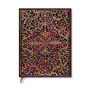 Linkovaný zápisník s měkkou vazbou Paperblanks Aurelia, 18x23cm