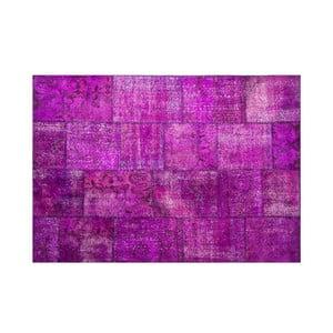 Vlněný koberec Allmode Violet, 150x80 cm