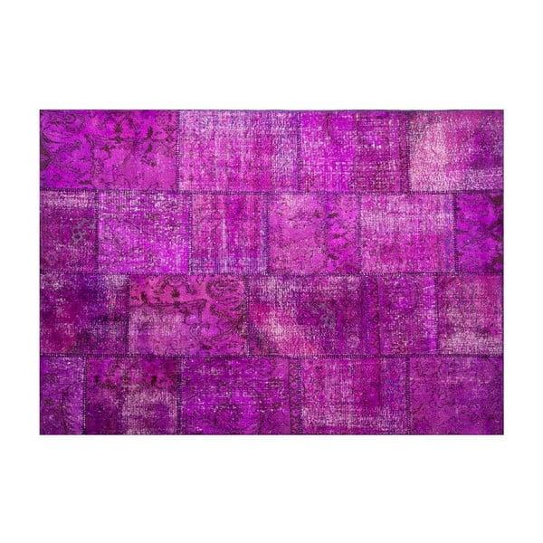 Vlněný koberec Allmode Violet, 180x120 cm