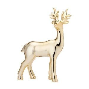 Statuetă decorativă Ladelle Glitz, înălțime24cm, auriu