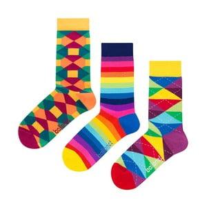 Dárková sada ponožek Ballonet Socks Pattern, velikost 41–46