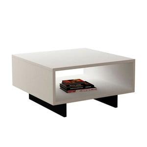 Černo-bílý konferenční stolek Hola