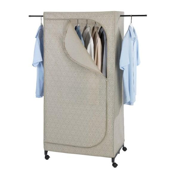Beżowa szafa tekstylna Wenko Balance, 160x50x75 cm