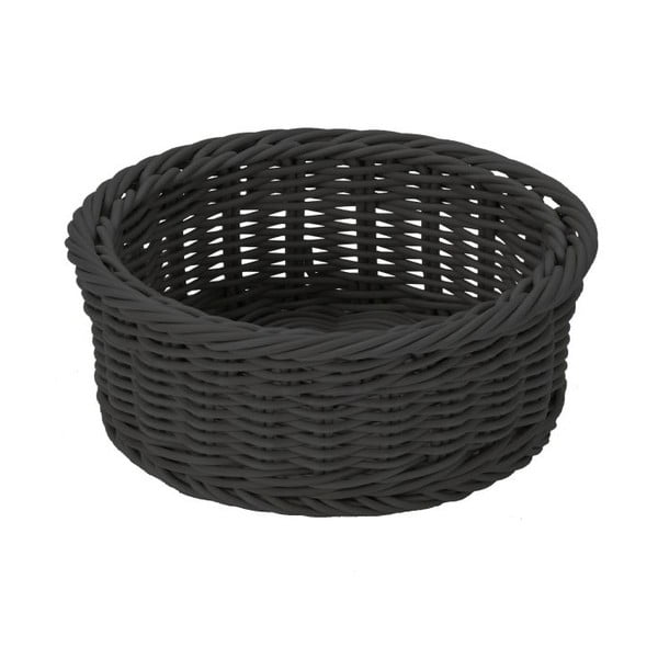 Košík Körbchen Black, 18x10 cm