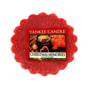 Vonný vosk do aromalampy Yankee Candle Vánoční Vzpomínky, doba trvání vůně až 8 hodin