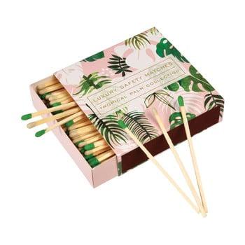 Cutie de chibrituri lungi Rex London Tropical Palm imagine