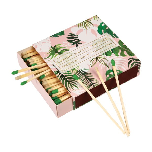Podełko zapałek kominkowych Rex London Tropical Palm