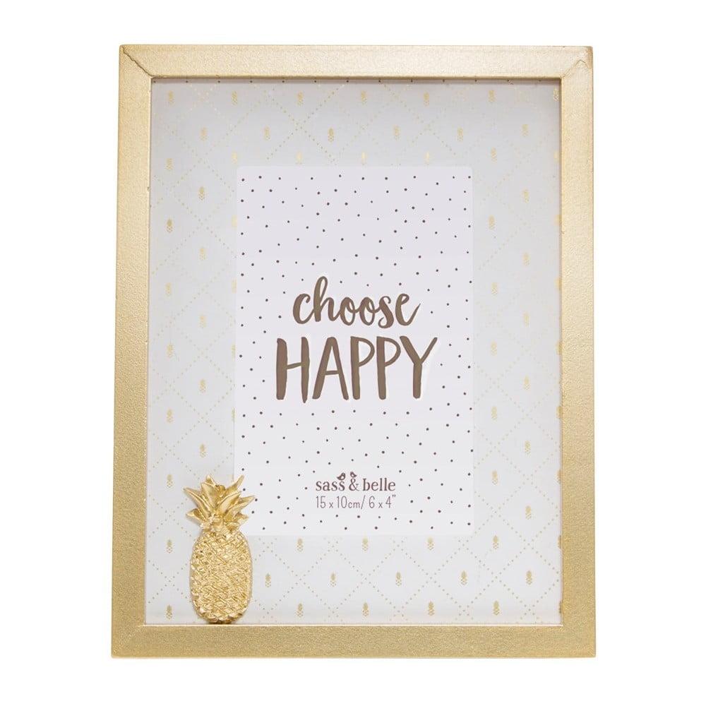 Rámeček na fotky Sass & Belle Pineapple, 18 x 23 cm