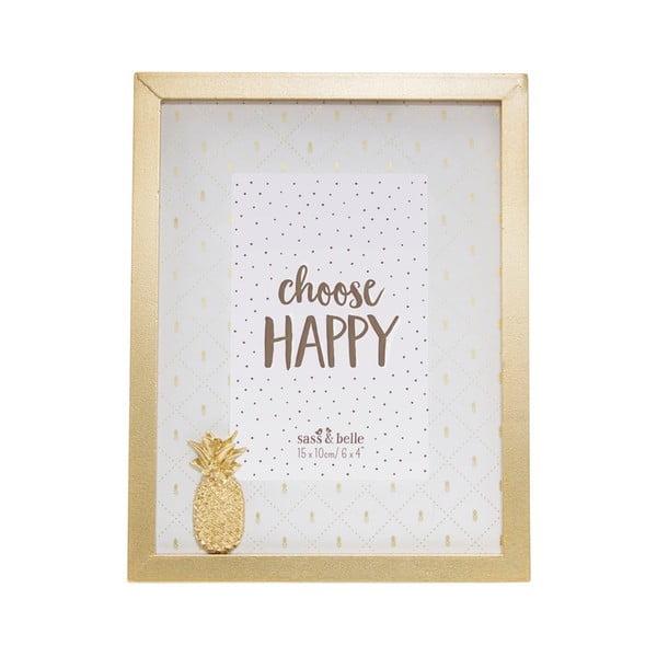 Ramă foto Sass & Belle Pineapple, 18 x 23 cm