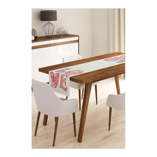 Love mikroszálas asztali futó, 45 x 145 cm - Minimalist Cushion Covers