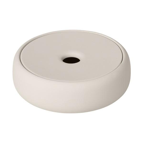 Krémovo-biela podložka na mydlo Blomus Sono