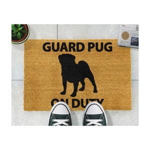 Rohožka Artsy Doormats Guard Pug,40x60cm