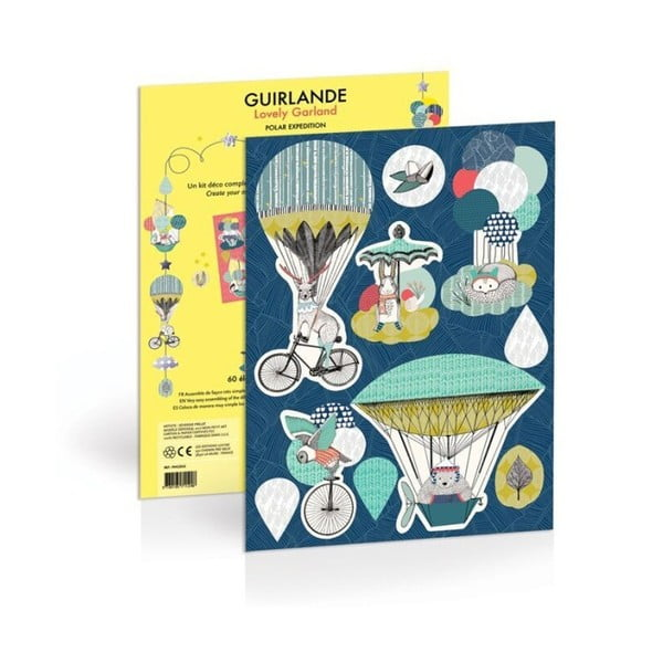 Girlanda papierowa Mon Petit Art Polar Expedition