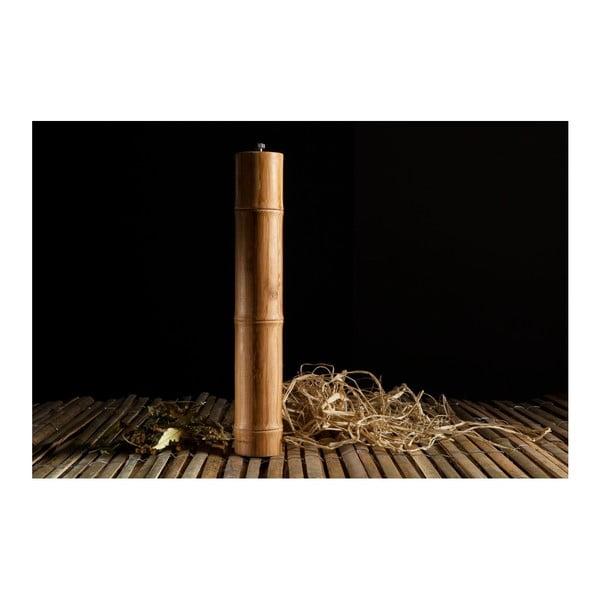 Mlýnek na koření z bambusového dřeva Bambum Madras