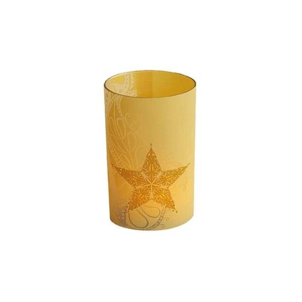 Svícen Soft Vanilla, 12.5 cm