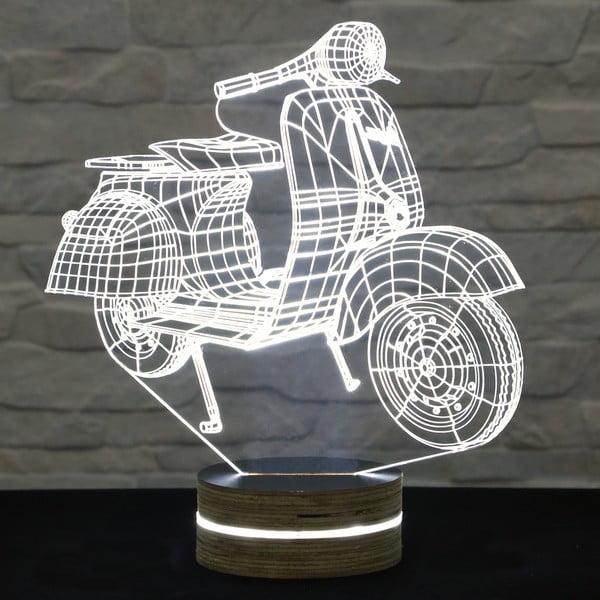 3D stolní lampa Motocycle