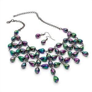 Set náhrdelník a náušnice Erin