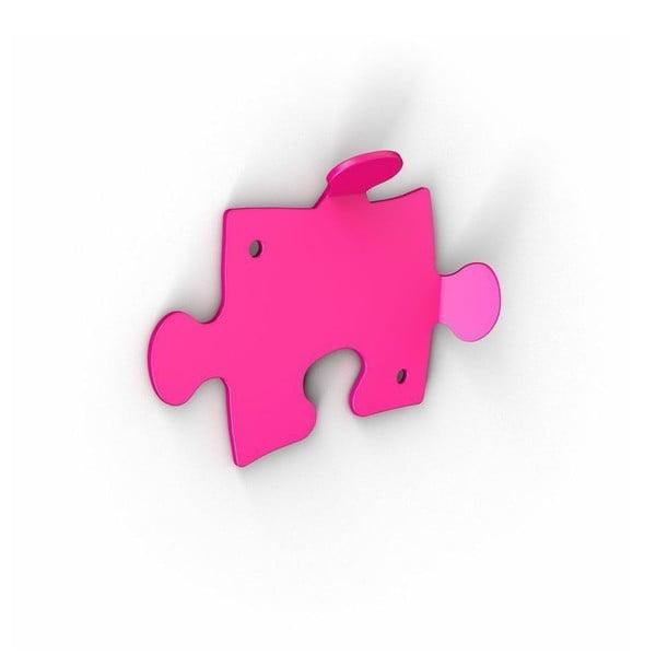 Růžové háčky Puzzle, 2 ks