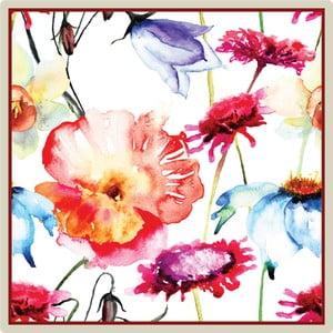Sada 2 prostírání Nisha Birds and Flowers, 20x20 cm