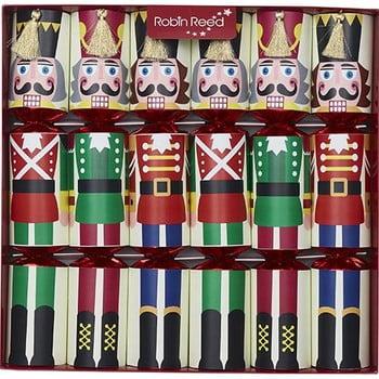 Set 6 pocnitori de Crăciun Robin Reed Racing Nutcracker imagine
